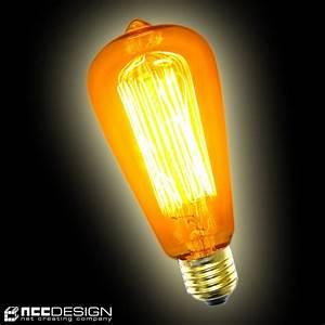 Große Glühbirne Als Lampe : gl hbirne rustika 60w e27 vielfachwendel hnl kohlefadenla ~ Eleganceandgraceweddings.com Haus und Dekorationen