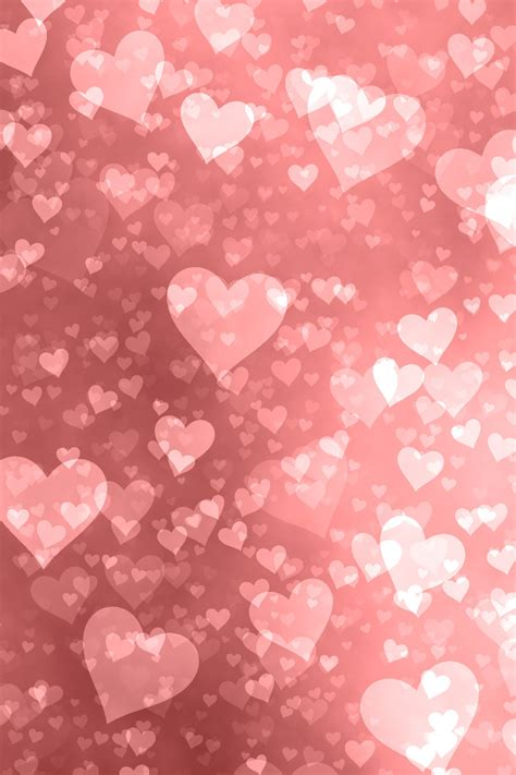 iphone background hearts happy valentines day