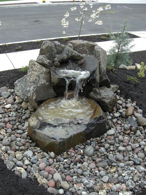 garden design  small water fountains small front