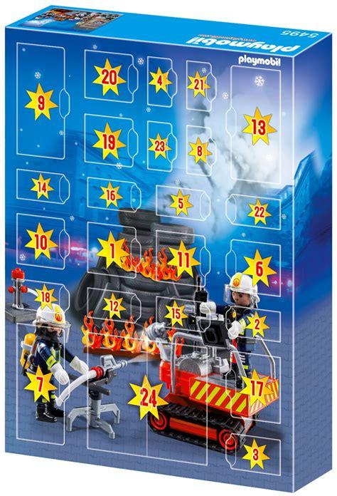 playmobil 5495 pas cher calendrier de l avent brigade de pompiers