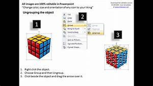 Problem Solved Solution Rubiks Cube Powerpoint Slides And