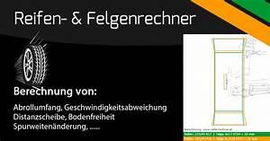 Felgendurchmesser Berechnen : reifenrechner et rechner abrollumfangrechner felgenrechner ~ Themetempest.com Abrechnung