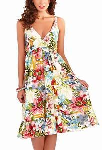 Summer Womens New Floral Tropical Print Ladies Skater Midi ...