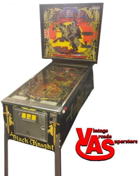 Black Knight Pinball Game For Sale Vintage Arcade