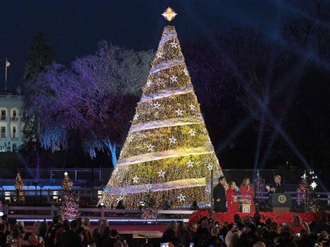 melania trump leads 95th annual national christmas tree