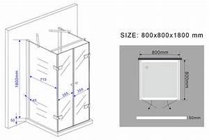 Spannbettlaken 80 X 180 : u duschkabine confino 80 x 80 x 180 cm ohne duschtasse ~ Eleganceandgraceweddings.com Haus und Dekorationen