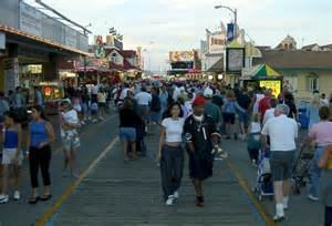 Wildwood NJ Beach Boardwalk