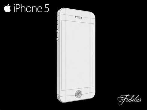 iphone 5 models iphone 5 free free 3d model max obj 3ds fbx c4d dae