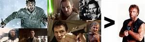 Liam Neeson > Chuck Norris - quickmeme