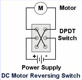 Reversing Motor Wiring Diagram For Dpdt Switch
