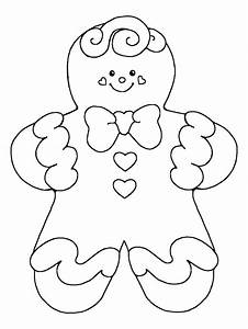 Gingerbread Boy Coloring Pages - AZ Coloring Pages