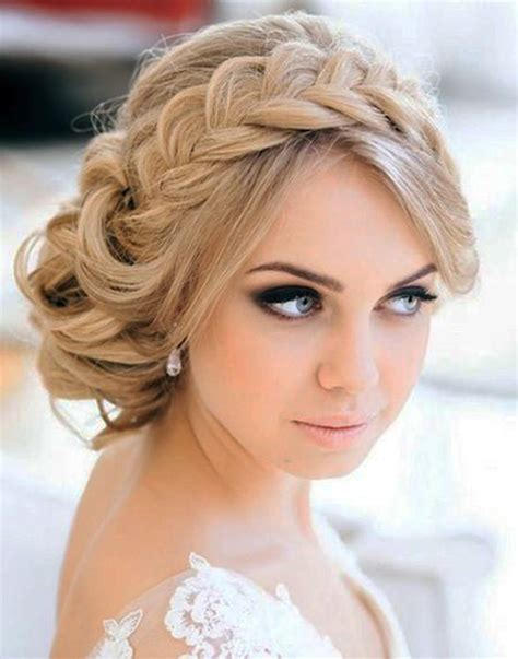 Plait Hairstyles For Hair by 15 Casual Wedding Hairstyles For Hair Fashionspick