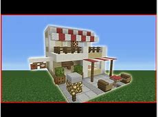 Minecraft Tutorial How To Make A Cafe YouTube