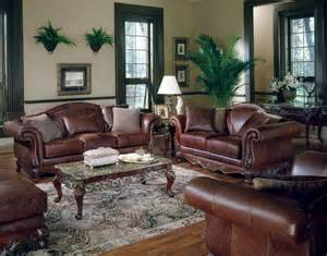 HD wallpapers living room decorating ideas brown leather sofa