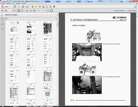 Kymco Mxu Workshop Service Repair Manual Parts