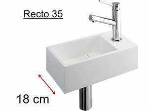 Mini Handwaschbecken Tiefe 20 Cm : badm bel waschbecken handwaschbecken lave mains waschbecken wc harze tiefe 20 cm montage ~ Buech-reservation.com Haus und Dekorationen