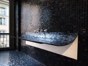 black bathroom tiles ideas bathroom remodeling black mozaic glass tile for bathrooms ideas glass tile for bathrooms ideas
