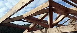 Ferme De Charpente : ferme de charpente traditionnelle uh48 jornalagora ~ Melissatoandfro.com Idées de Décoration