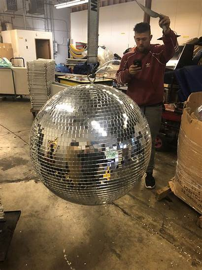 Ball Disco Giant Motor Partyworks Party Props