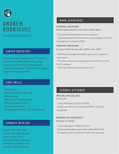 Resume Graphic Designer Example Resumes Examples Word