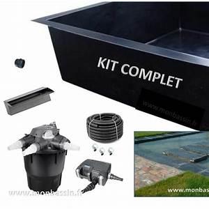 Bassin Exterieur Preforme : un kit bassin de jardin port de main ~ Premium-room.com Idées de Décoration