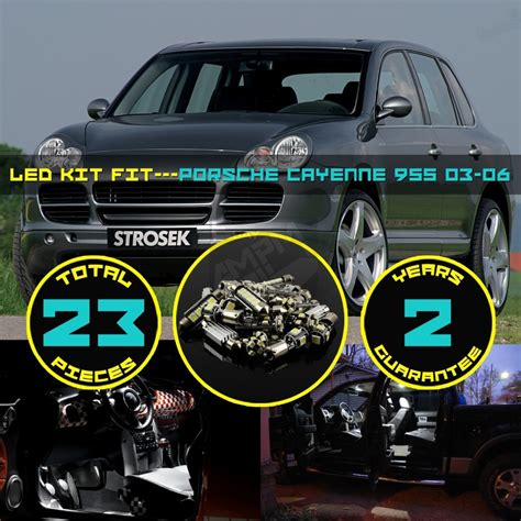 23x canbus error free led car interior dome map reading