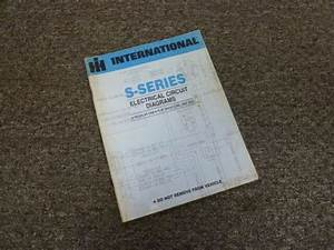 1979 International 2574 2575 2674 Truck Electrical Wiring