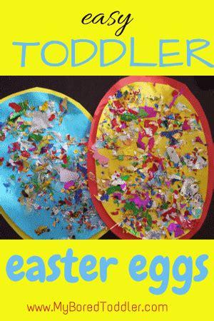 easter egg toddler craft  bored toddler