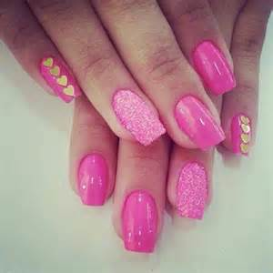 Pink nail designs picture