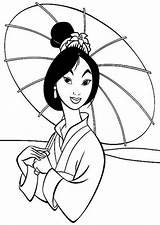 Coloring Mulan Chinese Traditional Fa Pages Colouring Colornimbus sketch template