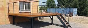 Terrasse Metallique Suspendue : ets charrier entreprise de construction m tallique terrasse suspendue gard ~ Dallasstarsshop.com Idées de Décoration