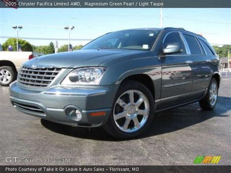 2005 Chrysler Pacifica Limited by Magnesium Green Pearl 2005 Chrysler Pacifica Limited Awd
