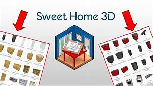 impoter des meubles sur sweet home 3d youtube With sweet home 3d meubles