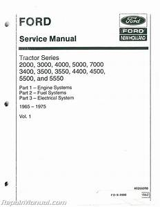 Ford 2000 3000 3400 3500 3550 4000 4400 4500 5000 5500