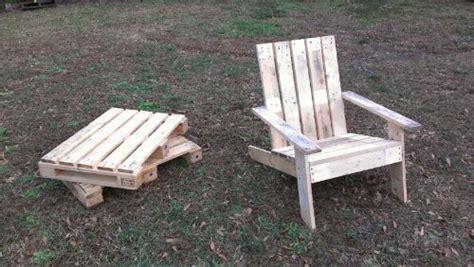 pallet lounge chair plans plans diy