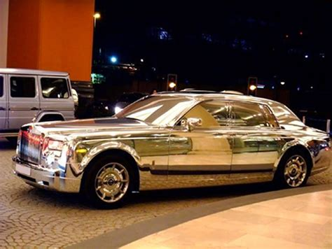 plated rolls royce the travel missy dubai rolls royce made of silver