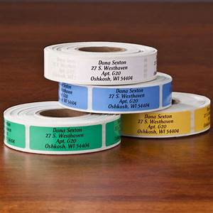 colorful address labels address label roll miles kimball With cheap address labels on a roll