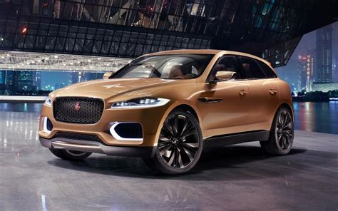 2016 Jaguar F-pace Suv, The First Sport Utility Vehicle