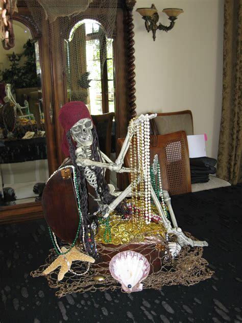 Pirate Decoration Ideas - pirate decor centerpiece this might be to