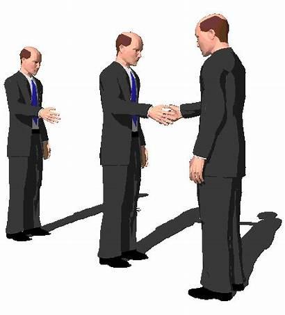 Transparent Handshake Business Thank Spinning Animated Hands