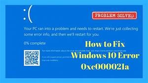 How to Fix Windows 10 Error 0xc000021a