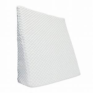 therapedicr trucoolr bed wedge in white bed bath beyond With bed bath and beyond sleeping wedge