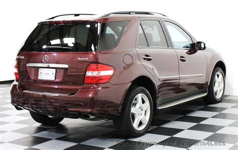 2008 mercedes benz ml 550 amg v8 suv with ml63 body kit engine with 400hp amg exhaust reverse camera and parking sensors heated seats and. 2008 Used Mercedes-Benz ML550 V8 4MATIC AWD AMG SPORT ...