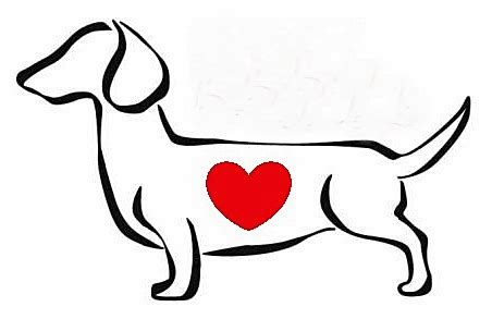 dachshund outline clipart    clipartmag