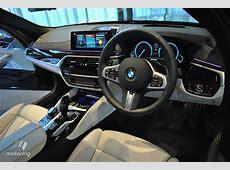 2017 BMW 5 Series BMW G30 interior dashboard