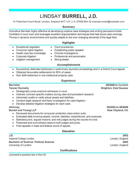 live careers best attorney resume example livecareer