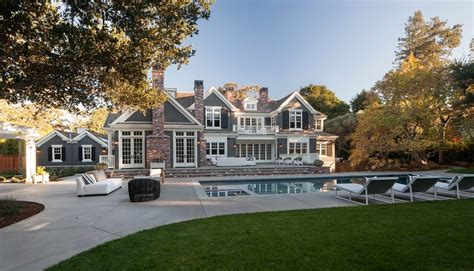 million newly built  square foot mansion  atherton ca homes   rich