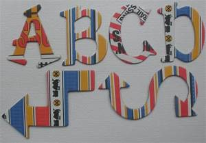 reminisce train tracks scrapbook chipboard letters With extra large chipboard letters