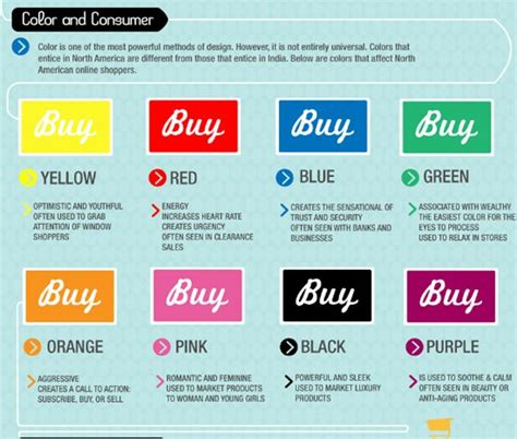 9 Interesting Infographics About Color • Inspired Magazine