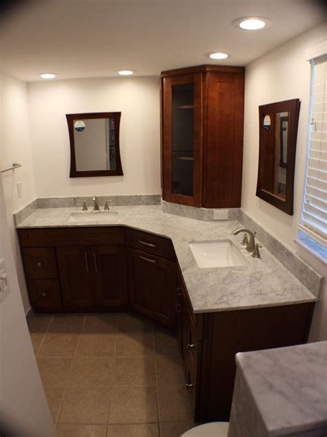 bathroom vanity  fabulous  shaped bathroom vanity